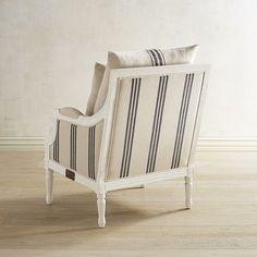 Magnolia Home White Parlor Chair