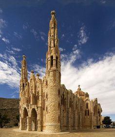 Santuario de Santa María Magdalena, Novelda. Alicante.