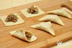 Кундюмы (постные пельмени с грибной начинкой) фото к рецепту 7