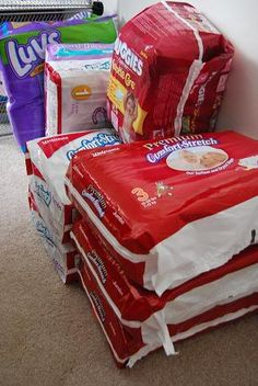 Diapers buying guide by infant growth chart