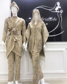 Malay Wedding Dress, Muslim Wedding Gown, Kebaya Wedding, Muslimah Wedding Dress, Wedding Attire, Model Kebaya Modern, Kebaya Modern Dress, Kebaya Dress, Wedding Dresses Pinterest