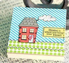 Jane's Doodles stamps - Home Sweet Home