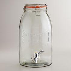 Savannah Embossed Drink Dispenser, $20 | World Market...GAH!  I.must.have.this.