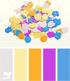 confetti brights - every day when I look at the new palettes, I am reminded what a gift we have been given with the color in our lives! Kl