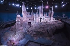 Chance for all to see: The castle will go on display as part of The Making Of Harry Potter studio tour at Leavesden Studios, London
