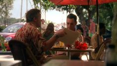 "Burn Notice 2x14 ""Truth and Reconciliation"" - Michael Westen (Jeffrey Donovan) & Sam Axe (Bruce Campbell)"