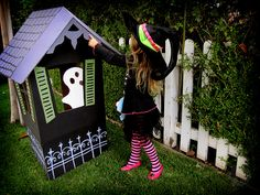 Cardboard Haunted House