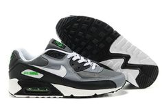 Air max90 men's shoes in gray and black are one of nike air max 90 new products,these shoes made with real leather,mesh upper, air-cushion sole.Real leather gives you more energy and vigor wherever you go;mesh upper can keep you away from the foot od