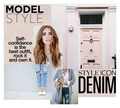 DENIM by isabella on Polyvore featuring moda, women's clothing, women's fashion, women, female, woman, misses and juniors