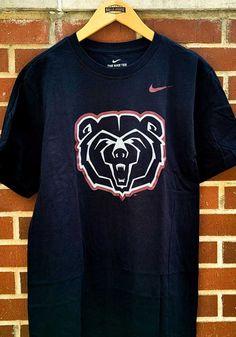 Nike Missouri State Bears Black Tonal Bear Short Sleeve T Shirt - 19862244 Great Books, St Louis, Missouri, Bear, Nike, T Shirt, Supreme T Shirt, Tee Shirt, Bears