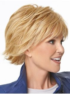 Blonde Straight Chin Length Convenient Synthetic Wigs,Cheap Synthetic Wigs