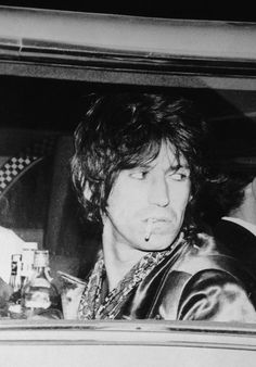 Keith Richards- I always thought he'd be the most interesting Stone...& possibly the scariest...