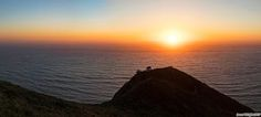 San Pedro Summit sunset. #Pacifica, CA. 21x9 crop from 21 merged frames.  #La...