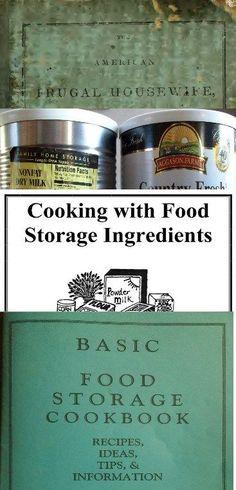 9 PRINTABLE Food Storage Cookbooks PDF