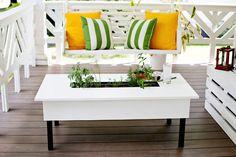 Tavolo con fioriera - Different Design