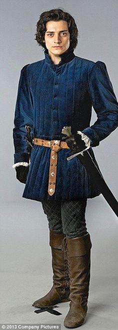 Aneurin Barnard as Richard III in The White Queen.