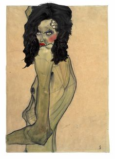 Afbeeldingsresultaten voor Egon Schiele