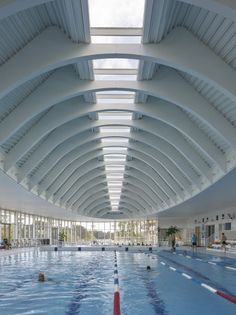 'l'atlantide' aquatic centre - Marc Mimram