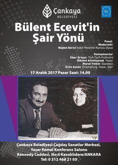 Bülent Ecevit'in Şair Yönü Paneli