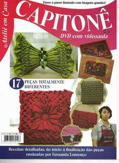 Capitone - Rosymar N - Álbumes web de Picasa Canadian Smocking, Smocking Patterns, Satin Flowers, Bargello, Fabric Manipulation, Book Crafts, Needle And Thread, Cross Stitch Embroidery, Needlework