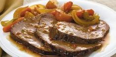 McCormick's Bag 'n Season® Pot Roast Recipe: Savor the homemade taste of tender pot roast and vegetables. The roasting bag makes the clean up quick and easy. Pot Roast Recipes, Meat Recipes, Food Processor Recipes, Cooking Recipes, Mini Pains, Low Sodium Recipes, Greek Cooking, Greek Recipes, I Foods