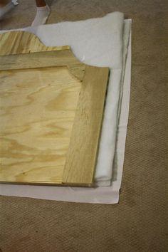 Tutorial for padded headboard