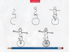 Todo o talento do equilibrista faz o passo a passo parecer ainda mais fácil! #IdeiasFeitasAMao