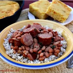 Duck Dynasty Copycat Pinto Beans and Sausage. Miss Kay's cooking is delicious. This sausage and beans recipe is a must-see.