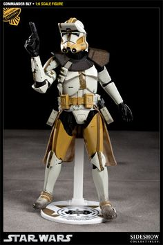 Sixth Scale Figure - Commander Bly (Sideshow Exclusive - 327th Star Corps 12-inch Figure Display Base) #21861