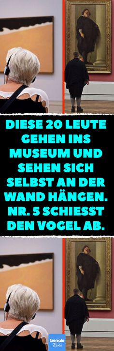 20 museum-goers who steal the show from the works of art. - These 20 people go to the museum and see themselves hanging on the wall. 5 shoots the bird. Museum, Image Categories, Fantasy Kunst, Ice Cream Party, Anime Kunst, Woodland Party, Cool Photos, Illustration Art, Cinema