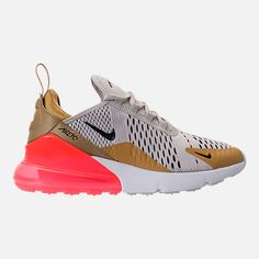 new styles de9ac 04686 Right view of Women s Nike Air Max 270 Casual Shoes in Flint Gold Black