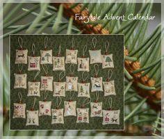 The Little Stitcher advent calendar