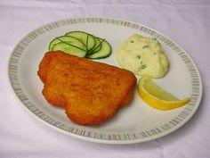 Chefkoch.de Rezept: Cordon bleu mit Püree Cordon Bleu, Gouda, Pancakes, Breakfast, Peeling Potatoes, Meat, Food Portions, Chef Recipes, Morning Coffee