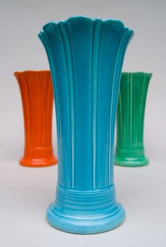 Fiestaware vase I want the Green one !