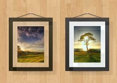 New Picture Frames (PSD) - FREE