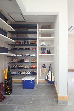 Natural Interior, Shoe Rack, Pantry, New Homes, Home And Garden, Cabinet, Interior Design, Closet, House