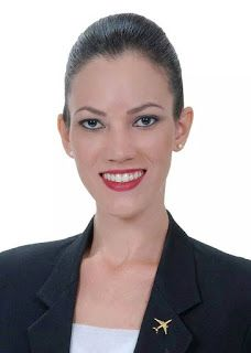 Blog Directory of all Most Popular Female Cabin Crew: Gabriela Dean