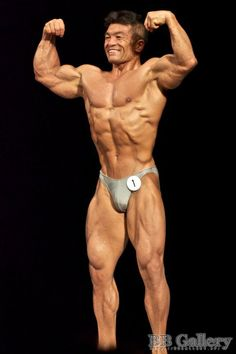 Aikawa Koichi (相川 浩一, Japanese Bodybuilder) at 2011 15th Japan National Competition