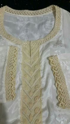 Moroccan Caftan, Caftan Dress, Caftans, Beaded Embroidery, Hijab Fashion, Lace Shorts, Glamour, Crochet, Style Inspiration