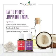 Limpiador facial Essential Oils For Skin, Young Living Essential Oils, Essential Oil Blends, Young Living Business, Esential Oils, Love Oil, Yl Oils, Young Living Oils, Natural Cosmetics