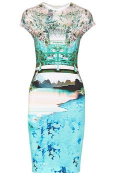 Mary Katrantzou Elay printed stretch-jersey dress | NET-A-PORTER