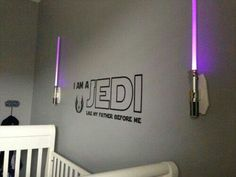 Fun nursery idea for nerdy parents