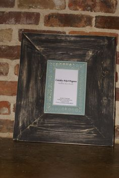4x6 Painted Distressed Frame  Distressed by countryfriedframes, $32.00