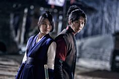 Gu Family Book(Hangul:구가의 서;RR:Guga-ui Seo; also known asKang Chi, the Beginning) is a 2013 South Korean television series starringLee Seung-giandSuzy. The fusion martial arts actionhistorical dramais about a half man-half monster who is searching for a centuries-old book that according togumiho legend, contains the secret to becoming human. The series aired onMBC. 수지 이승기