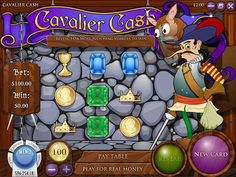 Just when you thought chivalry was dead, Cavalier Cash comes along with this medieval charms to prove, once and for all, that you can get far in life with a bit of charm, nobility and luck. Take on the role of a noble knight and loyal king's man and get ready to score some big rewards in this scratch-and-win game. Cavalier Cash on Gamblingcomet.com