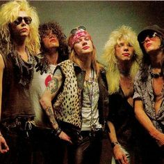 Guns and Roses first look the world got of them