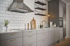 Kitchen Furniture, Kitchen Dining, Kitchen Decor, Kitchen Cabinets, Kitchen Room Design, Kitchen Interior, Interior Design Living Room, Cool Kitchens, Sweet Home