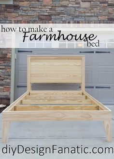 Trendy wood bed frame DIY King ideasTrendy wood bed frame DIY King ideas diy woodDIY bed frame - DIY farmhouse bed frame farmhousebedframesDIY bed frame - DIY farmhouse bed frame farmhousebedframesHow to make Diy Design, Diy Furniture Projects, Home Projects, How To Make Furniture, Geek Furniture, Furniture Market, Diy Furniture Plans, Furniture Storage, Pallet Furniture