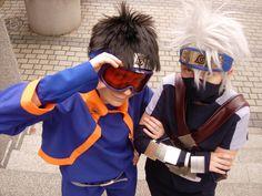 Obito and Kakashi (Naruto) Obito Kid, Kakashi And Obito, Naruto Shippuden, Boruto, Amazing Cosplay, Best Cosplay, Naruto Cosplay, Anime Cosplay, Anime Naruto