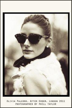 Olivia Palermo sunglasses Twirling Clare: SmartBuyGlasses